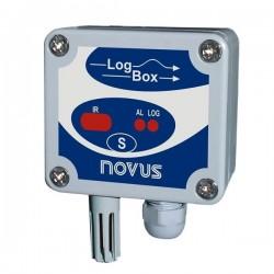 Registrador de Temperatura e Umidade Novus LogBox-RHT