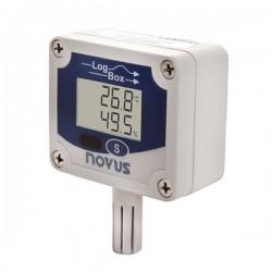 Registrador de Temperatura e Umidade NOVUS Logbox-RHT-LCD