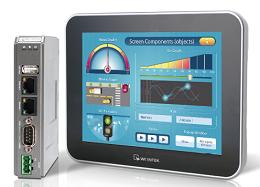Interface Touchscreen para acesso remoto ao cMT-SVR