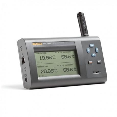 Termohigrômetros de precisão FLUKE 1620A-S e 1620A-H