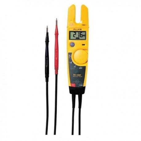 Testadores com Amperímetro Fluke T5-600 e T5-1000
