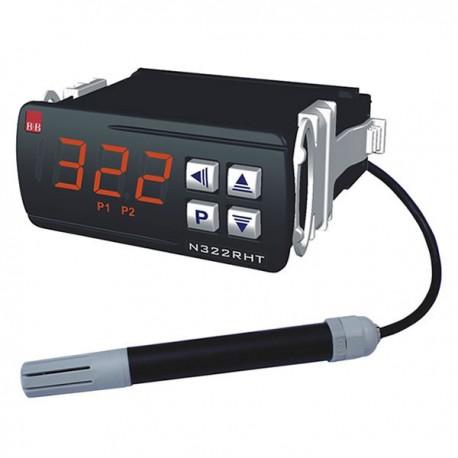Controlador de Temperatura e Umidade N322RHT