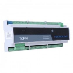 CLP Ethernet com analógicas TCP46 Tecnolog