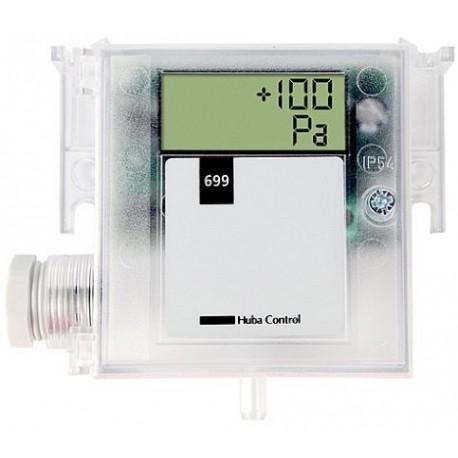 Transmissor de Pressão Diferencial HUBA 699